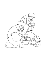 three wise men christmas merry christmas coloring pages for kids