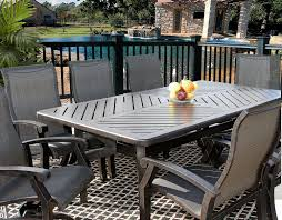 Outdoor Patio Dining Table by Dining Tables 11 Piece Outdoor Dining Set 9 Piece Square Patio