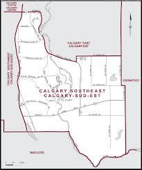 map of southeast canada calgary southeast maps corner elections canada