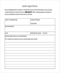 fault report template word equipment fault report form template professional and high