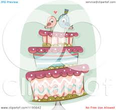 royalty free rf wedding cake clipart illustrations vector