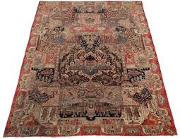 wool rug 10 x 13 vintage persian kashan wool rug 12083 exclusive oriental