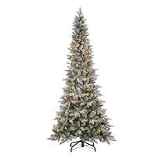 lightly flocked christmas tree 7 5ft pre lit artificial christmas tree lightly flocked canyon fir