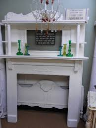 Shabby Chic Fireplace by 12 Best Vintage Mantels Images On Pinterest Fireplace Ideas