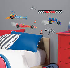 race car wall decals and sticker race car wall decals for kids image of race car wall decals design