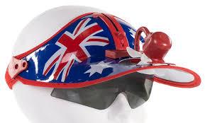hat with fan built in australia day hat with solar powered fan australian flag summer hat
