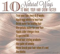 how to make your hair grow faster 10 natural ways to make your hair grow faster saving money