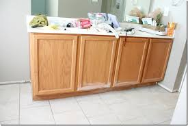 how to raise cabinets the floor remodelaholic how to raise up a vanity