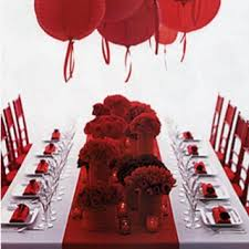 40th anniversary ideas 40th anniversary party ideas ruby table runner idea for