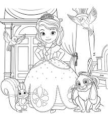 sofia coloring pages girls print free