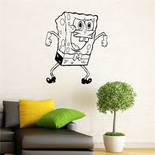 Spongebob Room Decor Aliexpress Com Buy Spongebob Wall Decal Squarepants Vinyl