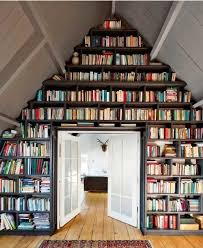 beautiful bookshelf attic storage library idea i want my attic to be livable and a