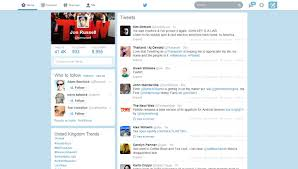 layout of twitter page new twitter for web design rolls out to all users