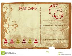 grunge post card royalty free stock images image 3505539
