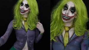 genderbent joker makeup tutorial youtube