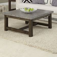 furniture cement coffee table reclaimed wood side table