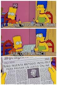Bart Simpson Meme - galerã a 15 memes de â uff que no hiceâ protagonizados por bart
