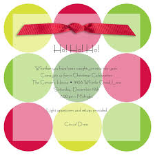 Christmas Invite Cards Catchy Christmas Celebration Invitation Card Idea With Colorful