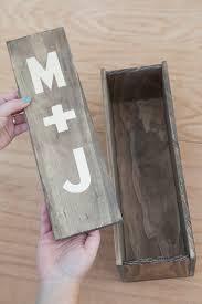 wine box wedding ceremony make your own wedding ceremony wine box