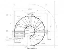 Curved Stairs Design Staircase Details Construction Details Dwgautocad Drawing Curved