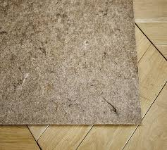 Rug Pad For Laminate Floor Standard Rug Pad Pottery Barn