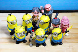 despicable me cake topper despicable me 2 minion character display figures kid cake