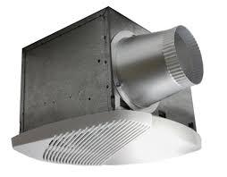 nuvent nuvent 130 cfm bathroom fan with light wayfair