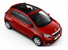 peugeot open top cars new peugeot 108 active top at campbeltown motor company in argyll