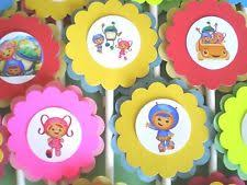 personalized cupcake toppers team umizoomi themed personalized cupcake toppers birthday party