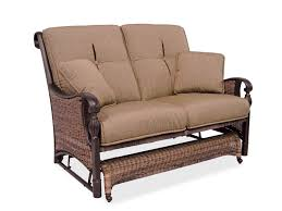 get cozy with perfect patio loveseat darbylanefurniture com