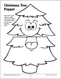 christmas tree puppet parents scholastic com