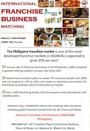 international franchise business matching in philippines vf