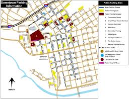 Utep Map Downtown Parking Guide