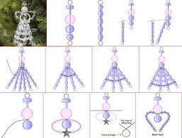 How To Make Christmas Ornaments Out Of Beads - 97 best beaded christmas ornaments images on pinterest beaded