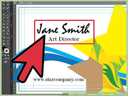 Designing Business Cards In Illustrator How To Make A Business Card On Adobe Illustrator 10 Steps