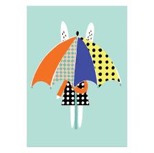 a3 umbrella print becky baur u2013 zigzag and zebra