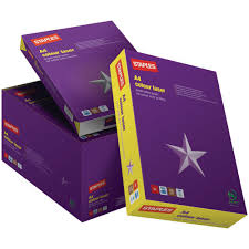 resume paper staples staples a4 100 gsm laser paper white ream 500 sheets staples