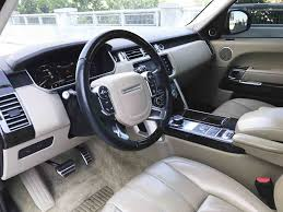 range rover white interior range rover hse for rent in miami paramount luxury rentals