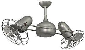 Modern Ceiling Fan Company by 39 In Dual Rotational Ceiling Fan In Brushed Nickel Finish