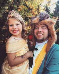 Beauty Beast Halloween Costumes Father Daughter Halloween Costume Beauty Beast