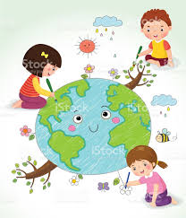 kids drawing the earth stock vector art 586712196 istock
