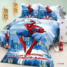 Single Bed Linen Sets Cool Spiderman Boys Bedding Set Twin Single Size Bed 2 3 Pcs