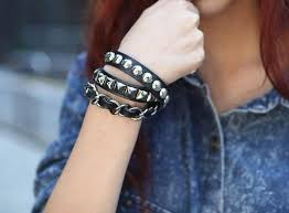 girls leather bracelet images Best 27 trendy designs of bracelets for women and girls 2019 jpg