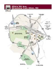 Detroit Edison Outage Map Savannah River Site Srs Srs Directions Aiken Page 2 Nuclear