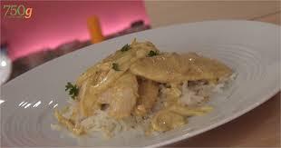 cuisiner des aiguillettes de poulet recette de aiguillettes de poulet au lait de coco 750 grammes