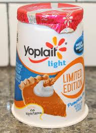 yoplait light yogurt ingredients yoplait light limited edition pumpkin pie review youtube