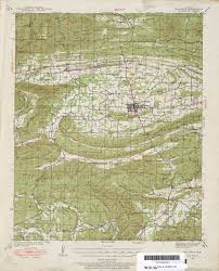map of arkansas arkansas historical topographic maps perry castañeda map