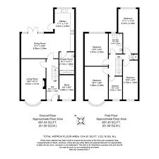 9 X 9 Bedroom Design Sold 5 Bed Semi Detached House Appledore Avenue Barnehurst