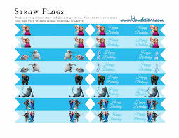 Printable Flags Frozen Party Free Printables Is It For Parties Is It Free Is