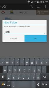 create folder on android free up space on android by moving large files to an sd card